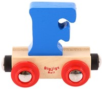 BigJigs Rail Name Letter F , BIGJIGS, LETTERTREIN F-2