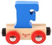 BigJigs Rail Name Letter F , BIGJIGS, LETTERTREIN F