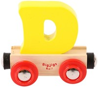 BigJigs Rail Name Letter D , BIGJIGS, LETTERTREIN D