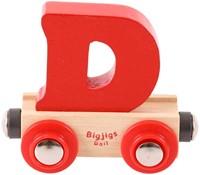 BigJigs Rail Name Letter D , BIGJIGS, LETTERTREIN D-3