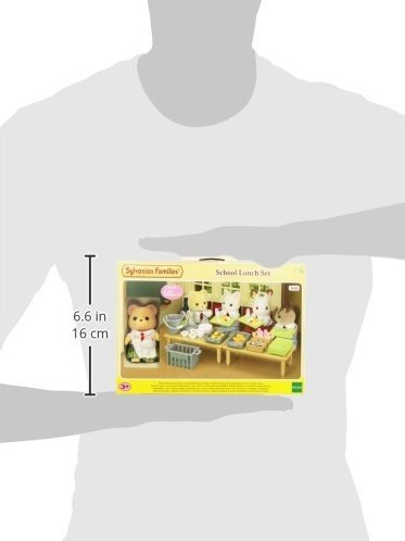 Sylvanian Families Lunch Op School 5108-2