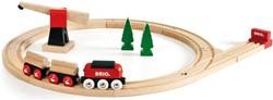 Brio  houten trein set Klassieke vrachttrein set 33010