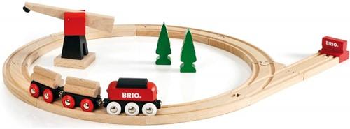 Brio  houten trein set Klassieke vrachttrein set 33010-1