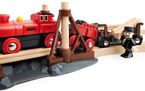 Brio  houten trein Stoomtreinset 33030-2