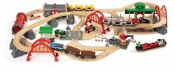 Brio  houten trein set Deluxe Railway set 33052