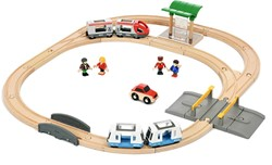 Brio  houten trein set City transport Set 33139