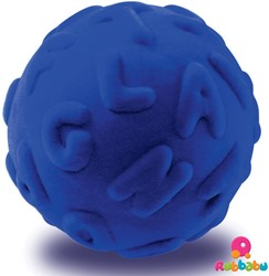 Rubbabu Ball Alphalearn (Blue)