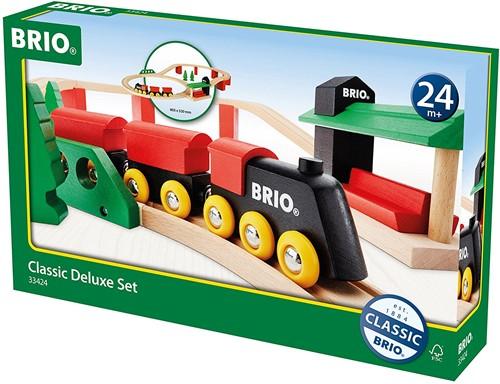 Brio  houten trein set Classic Deluxe set 33424-2