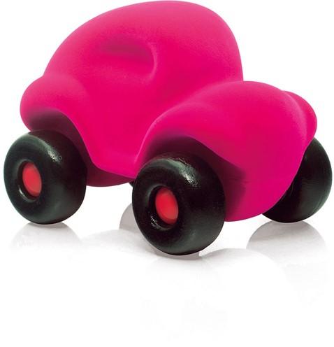 Rubbabu Auto groot (roze)