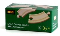 BRIO trein gebogen korte rails 33337-2