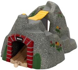 Brio  houten trein accessoire Adventure tunnel 33481
