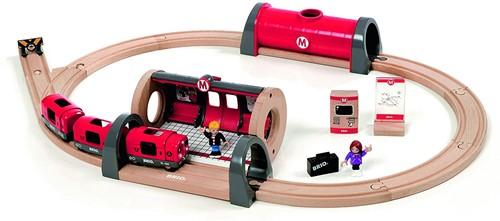 Brio metro treinset rood 33513-1