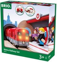 Brio metro treinset rood 33513-2