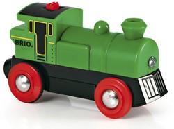 Brio  houten trein Locomotief batterij 2 kanten 33595