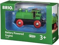 Brio  houten trein Locomotief batterij 2 kanten 33595-2