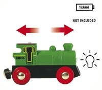 Brio  houten trein Locomotief batterij 2 kanten 33595-3