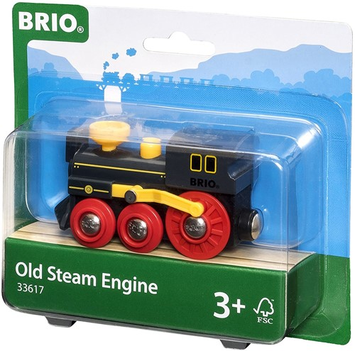 BRIO trein Oude stoomlocomotief 33617-2