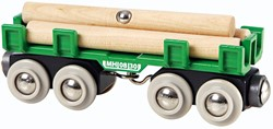 Brio  houten treinwagon Houttransport wagon 33696