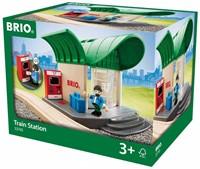 BRIO trein Treinstation met geluid 33745-3