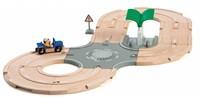 Brio  houten trein set City Road set 33747-1