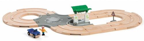 Brio  houten trein set City Road set 33747-2
