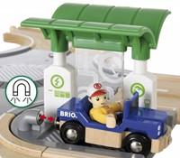 Brio  houten trein set City Road set 33747-3