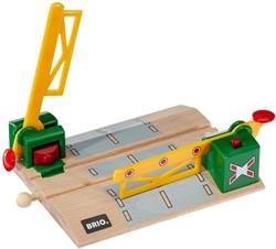 Brio  houten trein accessoire Overweg magnetisch 33750