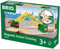 Brio  houten trein accessoire Overweg magnetisch 33750-2
