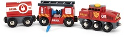 Brio  houten trein Rescue Cargo Train