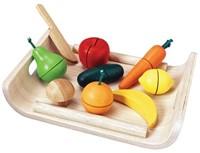 Plan Toys houten keuken accessoires Groenten & Fruit