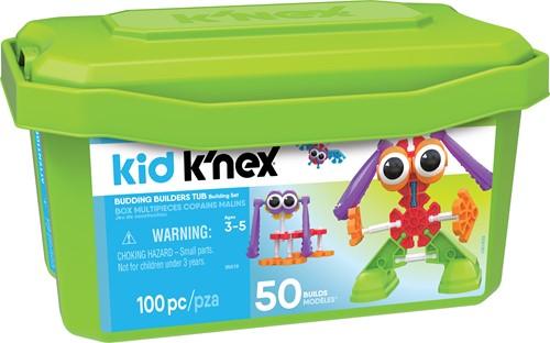 K'nex Kid  - Budding Builders Tub