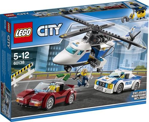LEGO City Snelle achtervolging 60138