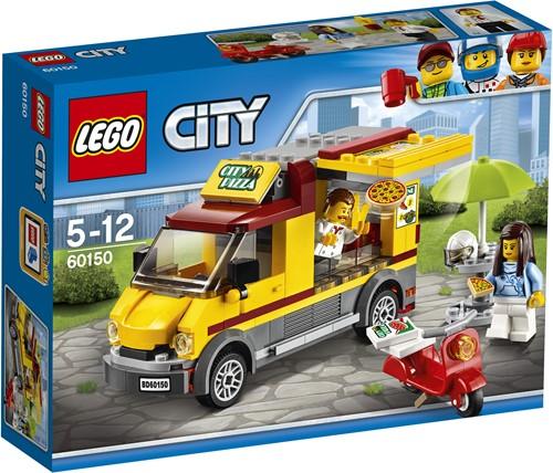 LEGO City Pizza bestelwagen 60150
