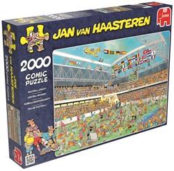 Jumbo  Jan van Haasteren legpuzzel Voetbal Waanzin 2000 stuks
