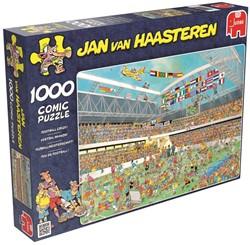 Jumbo  Jan van Haasteren legpuzzel Voetbalwaanzin 1000 stuks