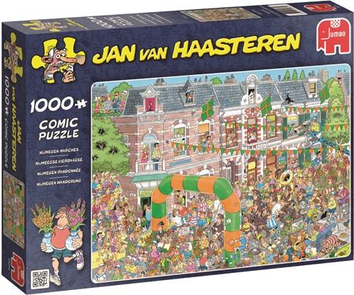 Jumbo puzzel Jan van Haasteren Nijmeegse Vierdaagse - 1000 stukjes