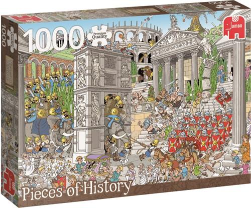 Jumbo puzzel Geschiedenis -  The Romans - 1000 stukjes