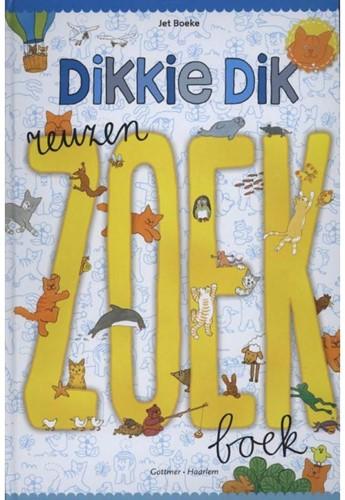 Dikkie Dik Het reuzenzoekboek. 2+