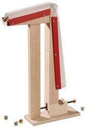 Haba  houten knikkerbaan accessoires Uitbreiding Lanceertoren 3520