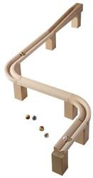Haba  houten knikkerbaan accessoires Uitbreiding Horizontale baan 3527