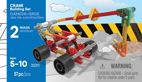 K'nex Building Sets - Crane Building Set