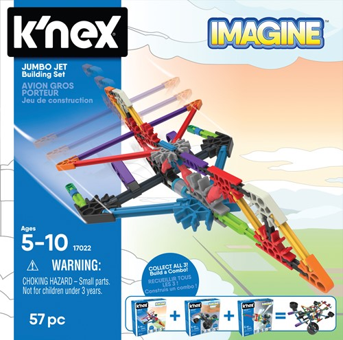K'nex Building Sets - Jumbo Jet Building Set