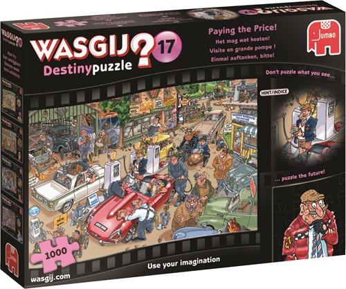 Jumbo puzzel Wasgij Destiny 17 INT - Het mag wat Kosten! - 1000 stukjes