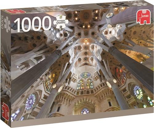 Jumbo puzzel Spanje - Sagrada Familia Barcelona - 1000 stukjes