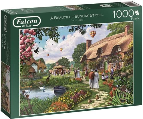 Jumbo puzzel Falcon Beautiful Sunday Stroll - 1000 stukjes