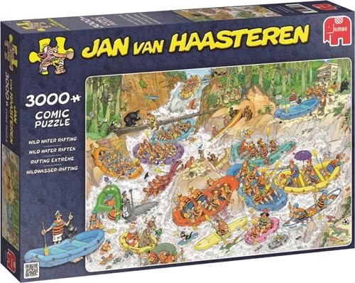 Jumbo puzzel Jan van Haasteren Wild Water Raften - 3000 stukjes