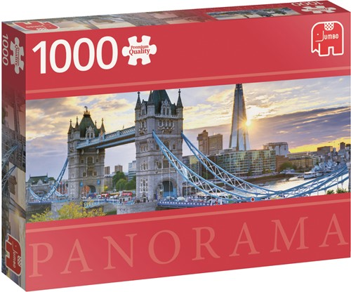 Jumbo puzzel Engeland - Tower Bridge London - 1000 stukjes