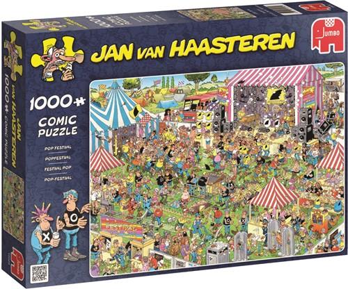 Jumbo puzzel Jan van Haasteren Popfestival - 1000 stukjes