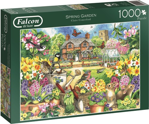 Jumbo puzzel Falcon Spring Garden - 1000 stukjes