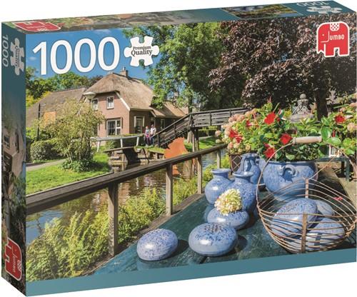 Jumbo puzzel Nederland -  Giethoorn The Netherlands - 1000 stukjes